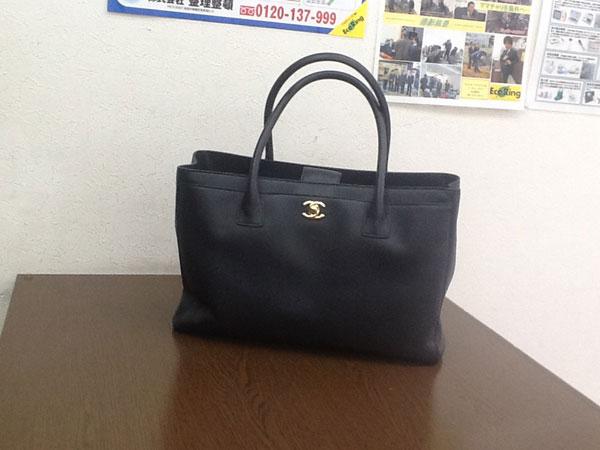 シャネル・キャビアスキン・エグゼクティブのトートバッグを買取|神戸|芦屋店