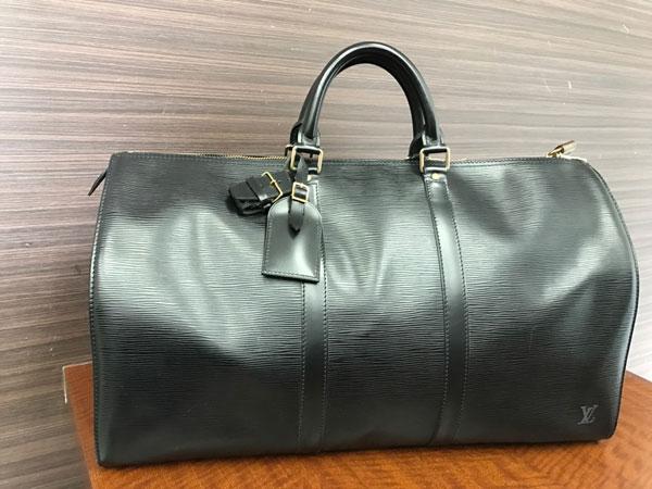ヴィトン・エピ・キーポル55・ノワールのバッグを買取|神戸|東灘店