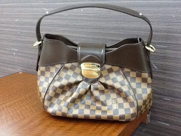 ヴィトン・ダミエ・システィナのバッグを買取 広島 広島緑井店