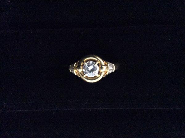 K18・0.631ctのダイヤモンドリングを買取|福岡|薬院店