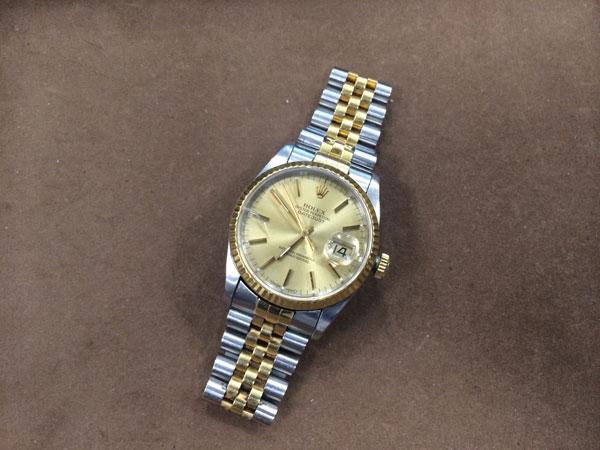 ロレックス・デイトジャスト・メンズの腕時計を買取 神戸 新長田店