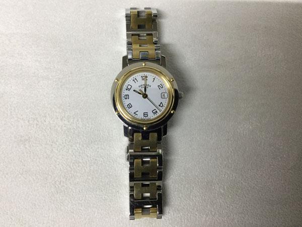 エルメス・クリッパー・CL4.220の腕時計を買取 姫路 東加古川店