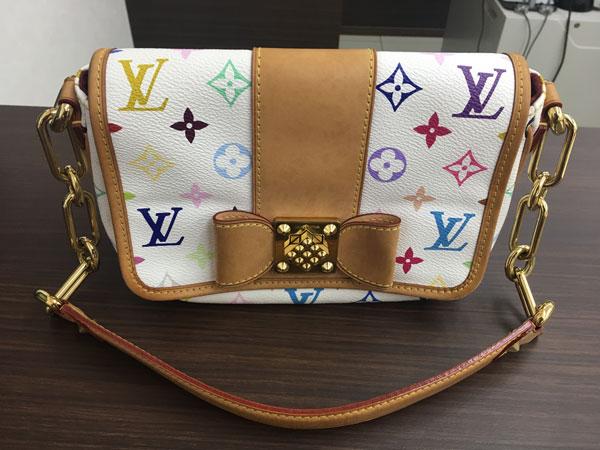 ヴィトン・マルチカラー・パティのショルダーバッグを買取 横浜 横浜青葉台店