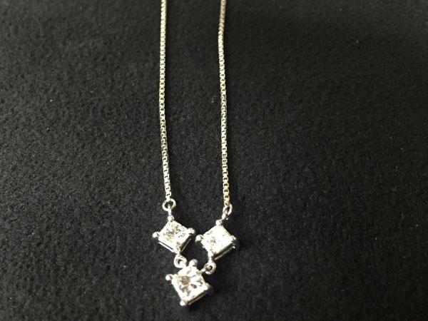 ダイヤ計1.01ctのネックレスを買取|横浜|あざみ野店