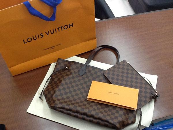 ヴィトン・ダミエ・新型ネヴァーフルMMのバッグを買取 神戸 六甲道店