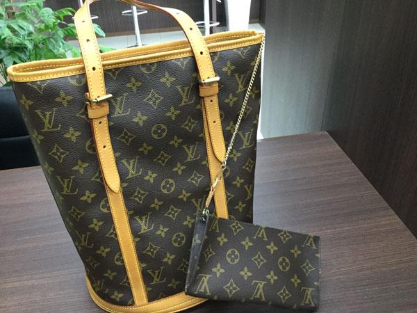 ヴィトン・バケットGMのバッグを買取 名古屋 名古屋徳重店
