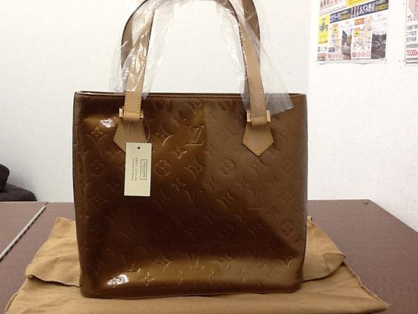 ヴィトン・ヴェルニ・ヒューストンのバッグを買取|横浜|あざみ野店