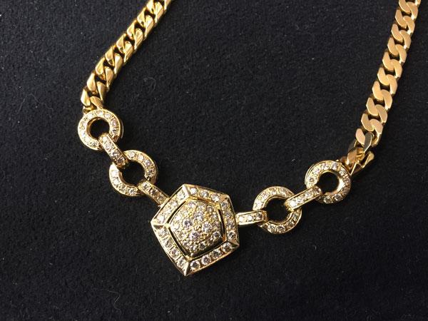 メレダイヤ2.94ctのネックレスを買取 川崎 川崎溝の口店