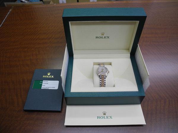 ロレックス・デイトジャスト・PGコンビ・新J新Pの腕時計を買取|川崎|川崎鷺沼店