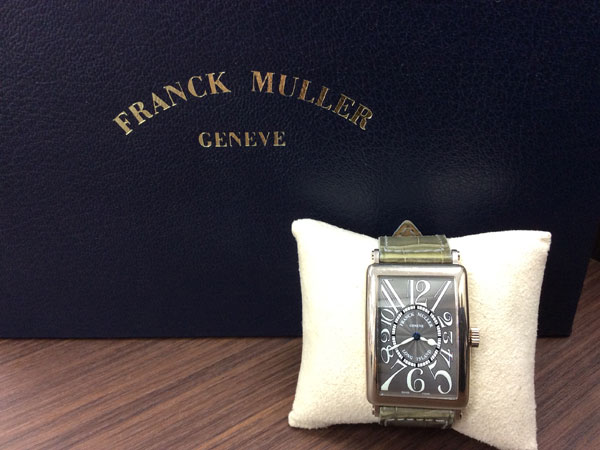 フランクミュラー・ロングアイランド・1000SCの腕時計を買取 難波 天王寺上本町店