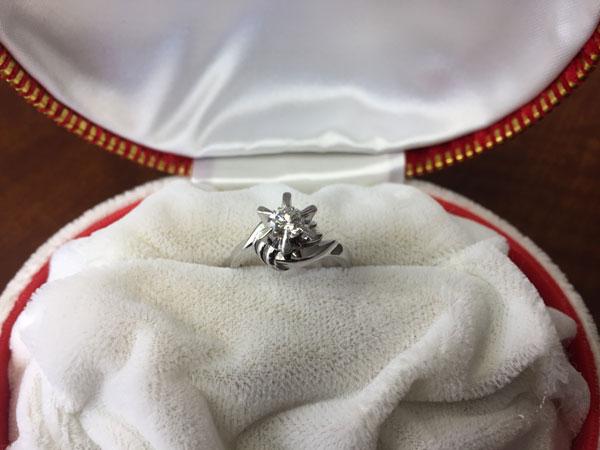 ダイヤモンド0.433ctのリングを買取|川崎|川崎溝の口店