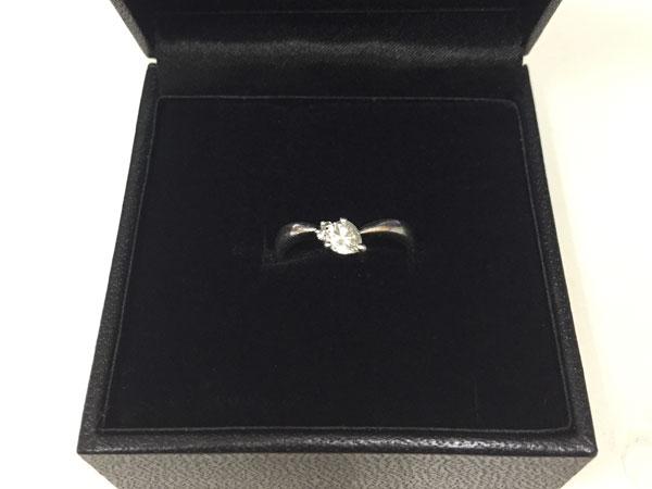 Pt900・計0.36ctのダイヤリングを買取 横浜 あざみ野店
