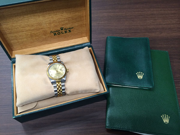 ロレックス・デイトジャスト・ボーイズ・68273Gの腕時計を買取|神戸|新長田店