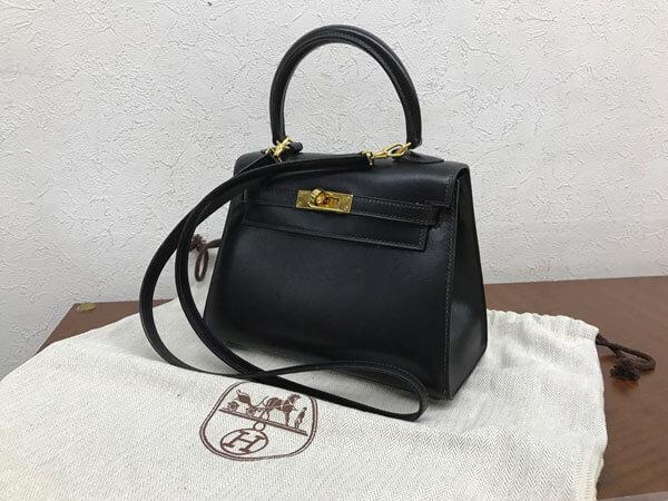 エルメス・ボックスカーフ・ミニケリーのバッグを買取 神戸 神戸店