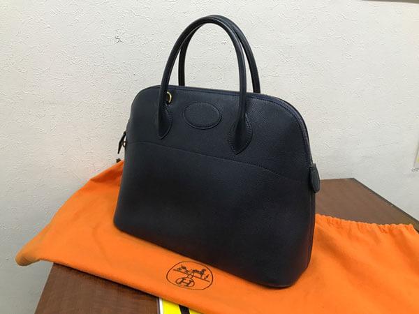 エルメス・クシュベル・ボリード37のバッグを買取|神戸|神戸店