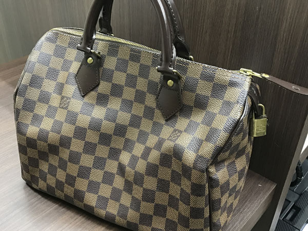 ヴィトン・ダミエ・スピーディ30のバッグを買取|名古屋|名古屋黒川北店