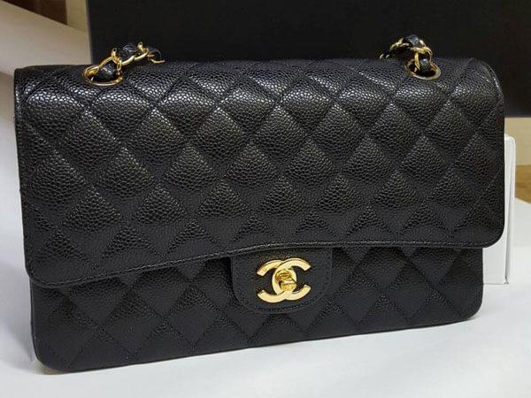 シャネル・キャビアスキン・マトラッセのバッグを買取|名古屋|名古屋本山店