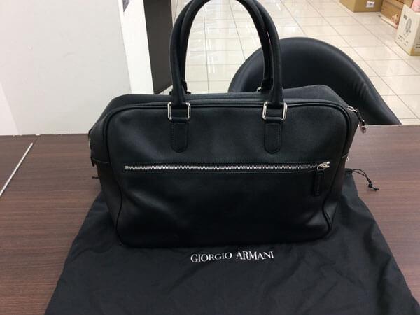 ジョルジオアルマーニ・レザーのトートバッグを買取 大阪 都島店