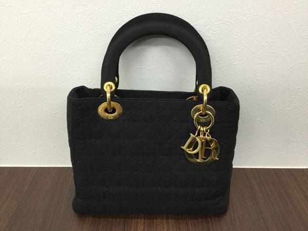 ディオール・レディディオール・カナージュのハンドバッグを買取 姫路 東加古川店