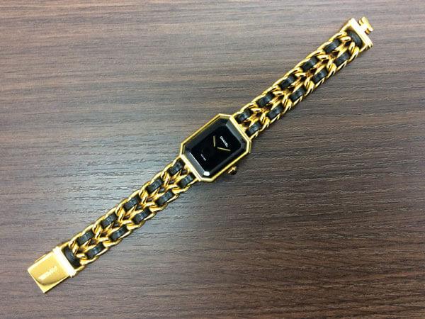 シャネル・プルミエール・Mサイズの腕時計を買取|難波|天王寺上本町店