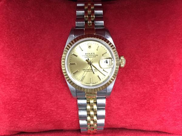 ロレックス・デイトジャスト・79174の腕時計を買取|神戸|ラポルテ芦屋店