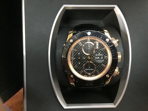 エドックス・クラスワン・クロノオフショア・130本限定モデルの腕時計を買取|神戸|西宮店