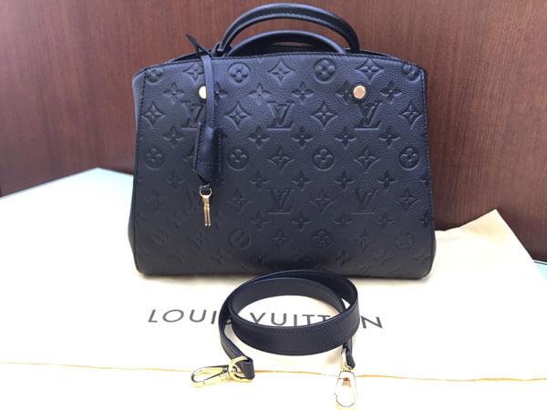 ヴィトン・アンプラント・モンテーニュMMのバッグを買取|神戸|夙川店