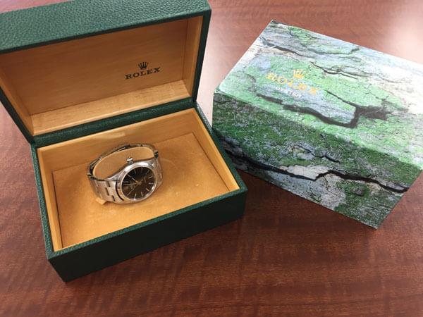 ロレックス・デイトジャスト・黒文字盤・16200の腕時計を買取|神戸|西宮北口店