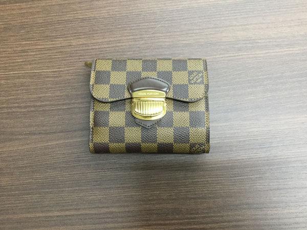ヴィトン・ダミエ・ポルトフォイユジョイの財布を買取|名古屋|名古屋徳重店