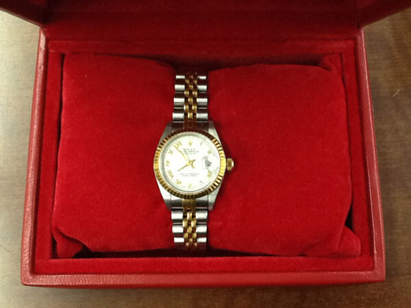 ロレックス・デイトジャスト・レディース・79173の腕時計を買取 兵庫県 飾磨店