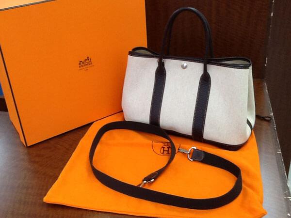 エルメス・ガーデンパーティ・TPM・2wayのバッグを買取|姫路|広畑店