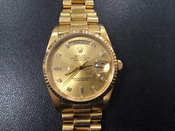 ロレックス・デイデイト・18238Aの腕時計を買取 神戸 新長田店