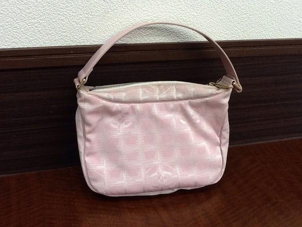シャネル・ニュートラベルラインのセミショルダーバッグを買取|名古屋|名古屋藤が丘店