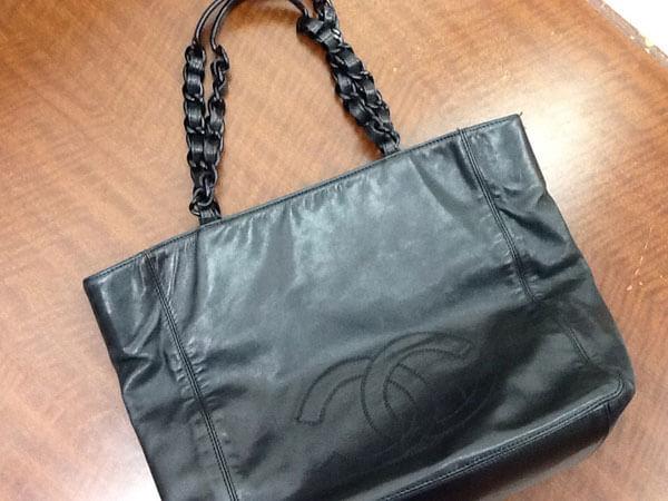 シャネル・ラムスキン・チェーンのトートバッグを買取|名古屋|名古屋藤が丘店