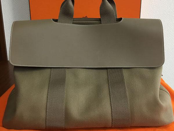 エルメス・ヴァルパライソ・エトゥープのバッグを買取 名古屋 名古屋昭和店