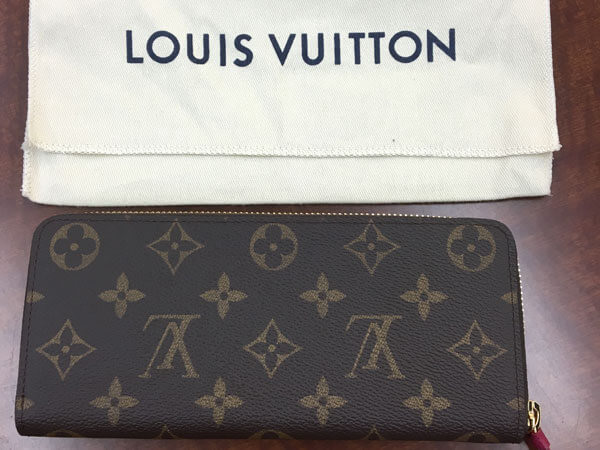 ヴィトン・モノグラム・ポルトフォイユ・クレマンスの財布を買取|名古屋|名古屋昭和店
