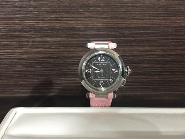 カルティエ・ミスパシャの腕時計を買取 梅田 塚口店