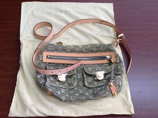 ヴィトン・モノグラムデニム・バギーPMのバッグを買取|姫路|広畑店