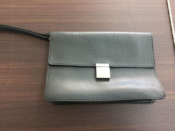 ヴィトン・タイガライン・セレンガのセカンドバッグを買取|名古屋|名古屋本山店