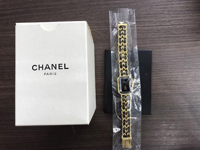 シャネル・プルミエール・Lサイズの腕時計を買取|名古屋|名古屋西店