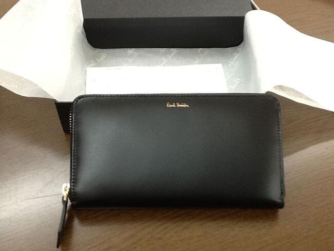 ポールスミス・ラウンドファスナーの長財布を買取 大阪 曽根店