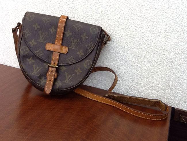 ヴィトン・モノグラム・シャンティのバッグを買取 名古屋 名古屋藤が丘店