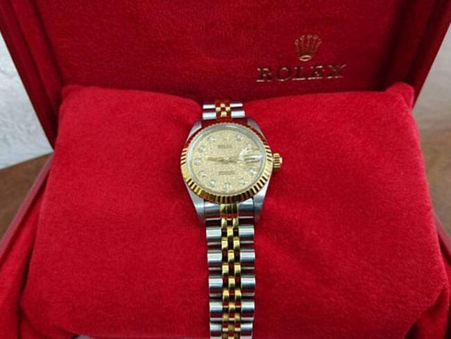 ロレックス・レディース・デイトジャスト・79173Gの腕時計を買取 船橋 津田沼店