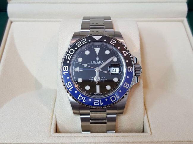 ロレックス・GMTマスターⅡ・116710・BLNRの腕時計を買取 名古屋 名古屋本山店