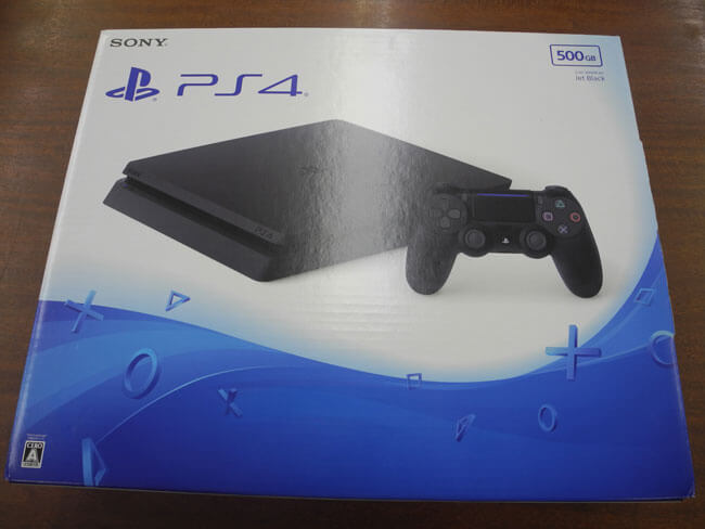 SONY・PS4・500GB・ジェットブラック・CUH-2000Aを買取|広島|広島西店