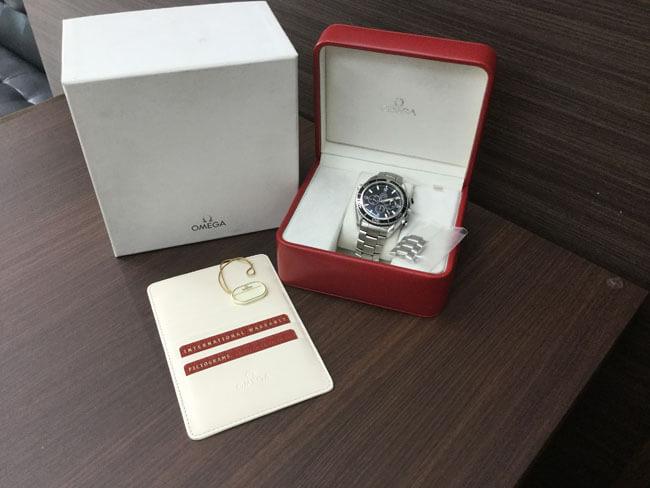 オメガ・シーマスター・プラネットオーシャンの腕時計を買取|大阪|谷町店