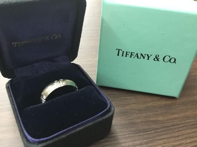 ティファニー・ストリーメリカのリングを買取 大阪 谷町店