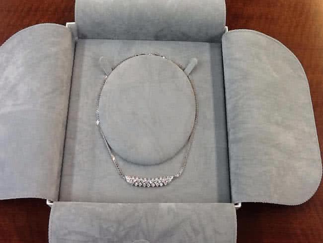 ロイヤルアッシャー・ダイヤモンドのネックレスを買取 名古屋 名古屋藤が丘店