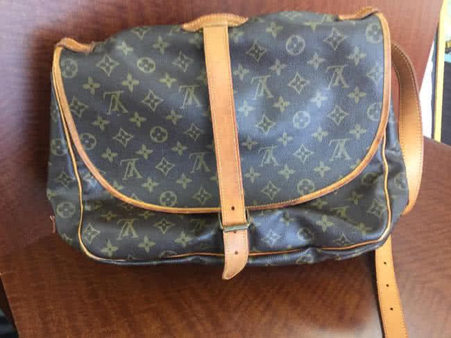 ヴィトン・ソミュール35のバッグを買取|広島|廿日市宮内店
