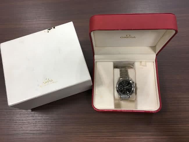 オメガ・スピードマスターの腕時計を買取|神戸|新長田店